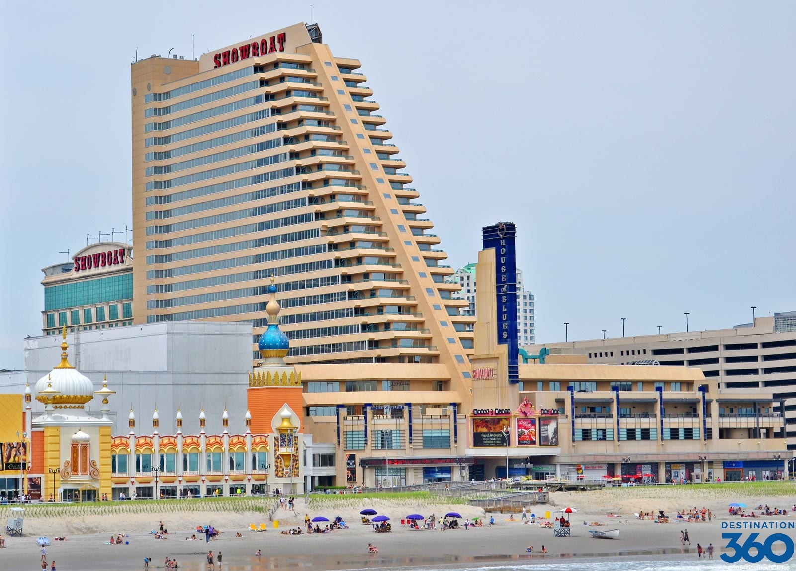 NJ Casino Trips - Showboat Hotel Atlantic City - LI Casino Transportation